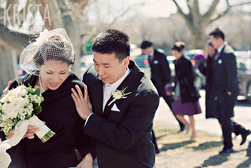 Spring Wedding in Cambridge