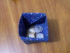 Porta moedas origami (Atelie Rosália Klaus) Tags: origami patchwork em klaus tecido ateliê rosália