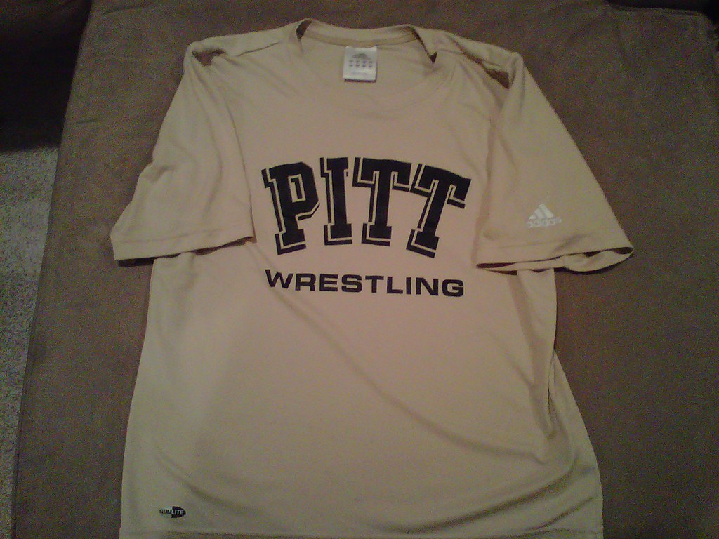 PITT Wrestling Dry Fit Short Sleeve