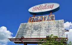 Holiday Drive-In Theatre Marquis (11) Crop (Dysonstarr) Tags: sign route66 landmarks drivein missouri springfieldmissouri marquis springfieldmo moviesign historicroute66 theatresign theozarks missouri66 holidaydrivein holidaydriveintheatre holidaydriveintheatremarquis route66landmarks historicroute66landmarks