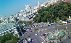 Cibeles, desde del Palacio de Communicaciones by mad_vs