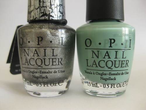 OPI Mermaids tears Bottles