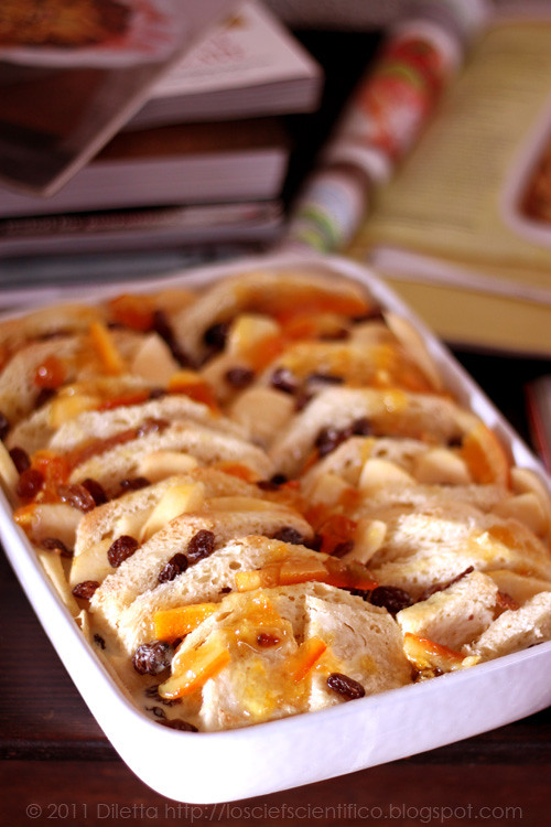 Marmalade & Rum Bread & Butter Pudding..