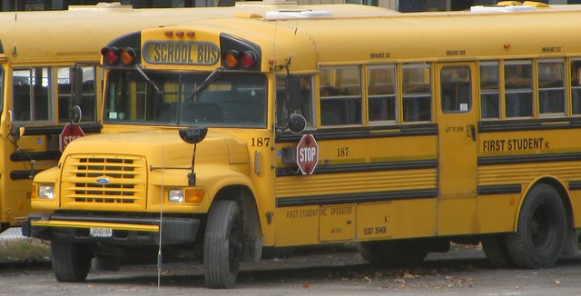 ny ford schoolbus wallkill thomasbuilt b800 firststudent