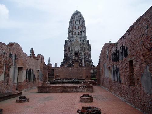 Wat Ratchaburana in Ayutthaya