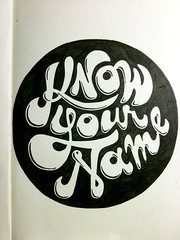 know your name (cale leroy) Tags: moleskine typography lyrics doodle quotes type typeface handdrawn charcters quips dailydrawings
