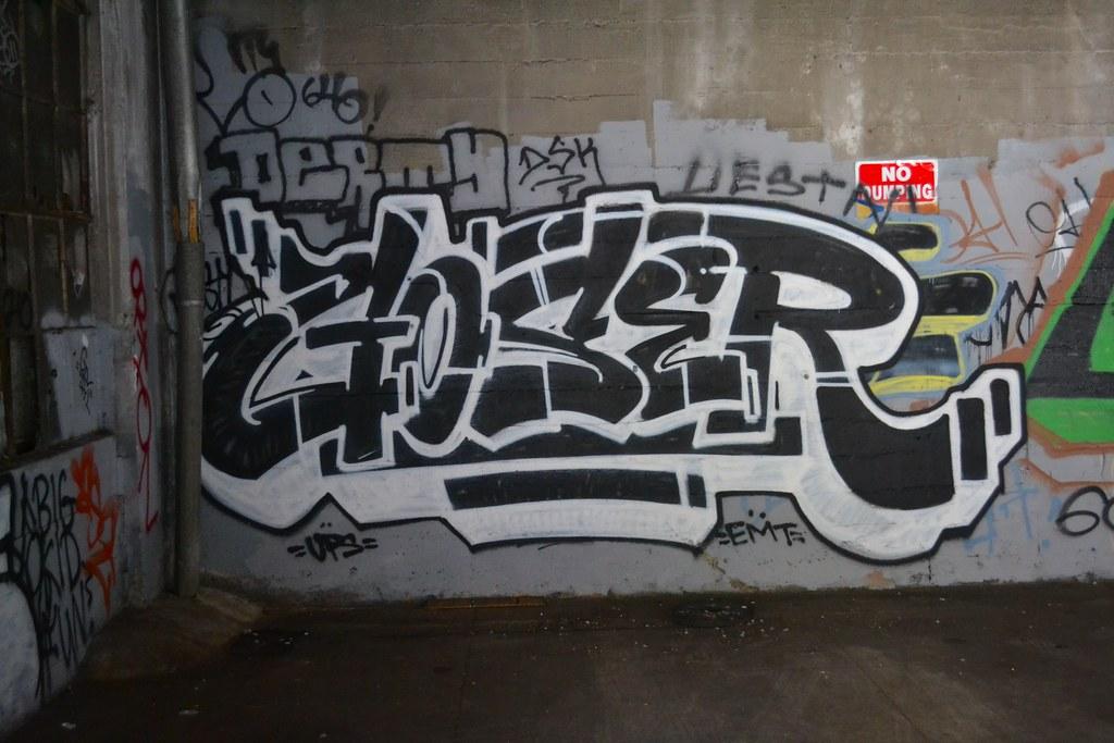 GOSER, UPS, Oakland, Graffiti, Street Art