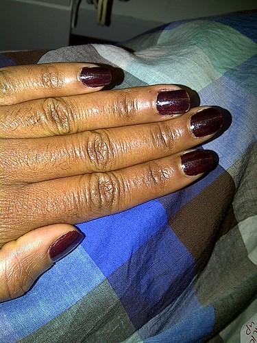 Doing MAC Venomous Villians Mean and Green nails today