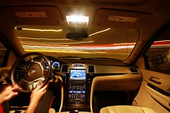 Turning My Life Around ! (AlAmmari) Tags: car interior escalade sigma 1020 bahrain cadillac long exposure slow shutter turning