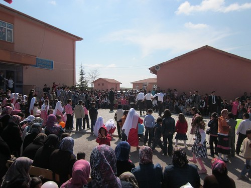 Childrens festival, nowhere, Turkey