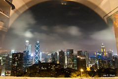 Hong Kong Through the Looking Glass (idashum) Tags: china travel family skyline hongkong nikon asia ida shum d300 hongkongskyline idashum idacshum