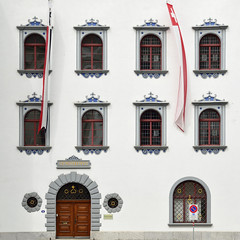 St. Gallen,  Stadthaus (pierre hanquin) Tags: color geotagged schweiz switzerland nikon suisse pierre sanktgallen d7000 hanquin