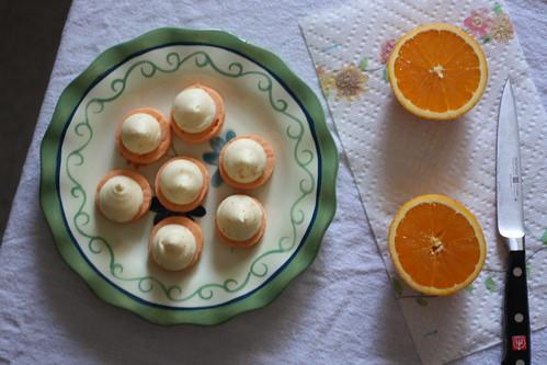 macarons & oranges