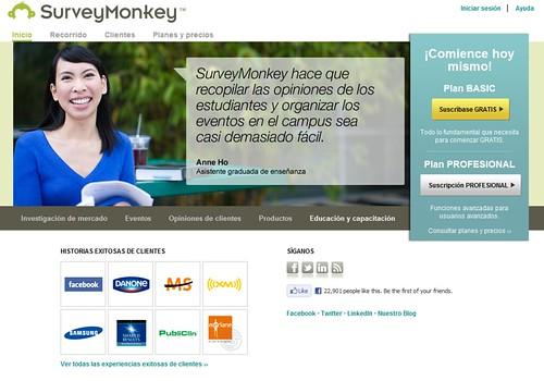 Encuestas en Línea con Survey Monkey