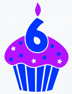 Happy birthday, BloggyWoggyBoo!  (What, you don't have a pet name for your blog?)