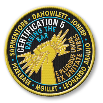 Certification 5 Patch