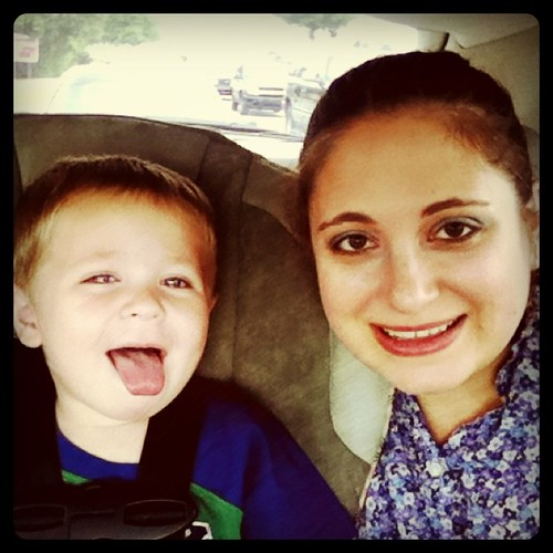 Me & my silly little boy!