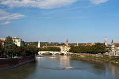 View Down The Adige - Verona (Tom Peddle) Tags: italy verona 2009 adige
