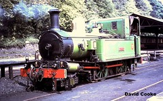 S0545 BP 2-4-0T No.10 G.H.Wood @ Douglas, IOM July 1967 (davidncooke_686) Tags: uk man railway steam locomotive ng gauge isle narrow iom