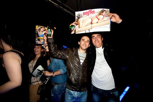 Festa da revista J em Chaves