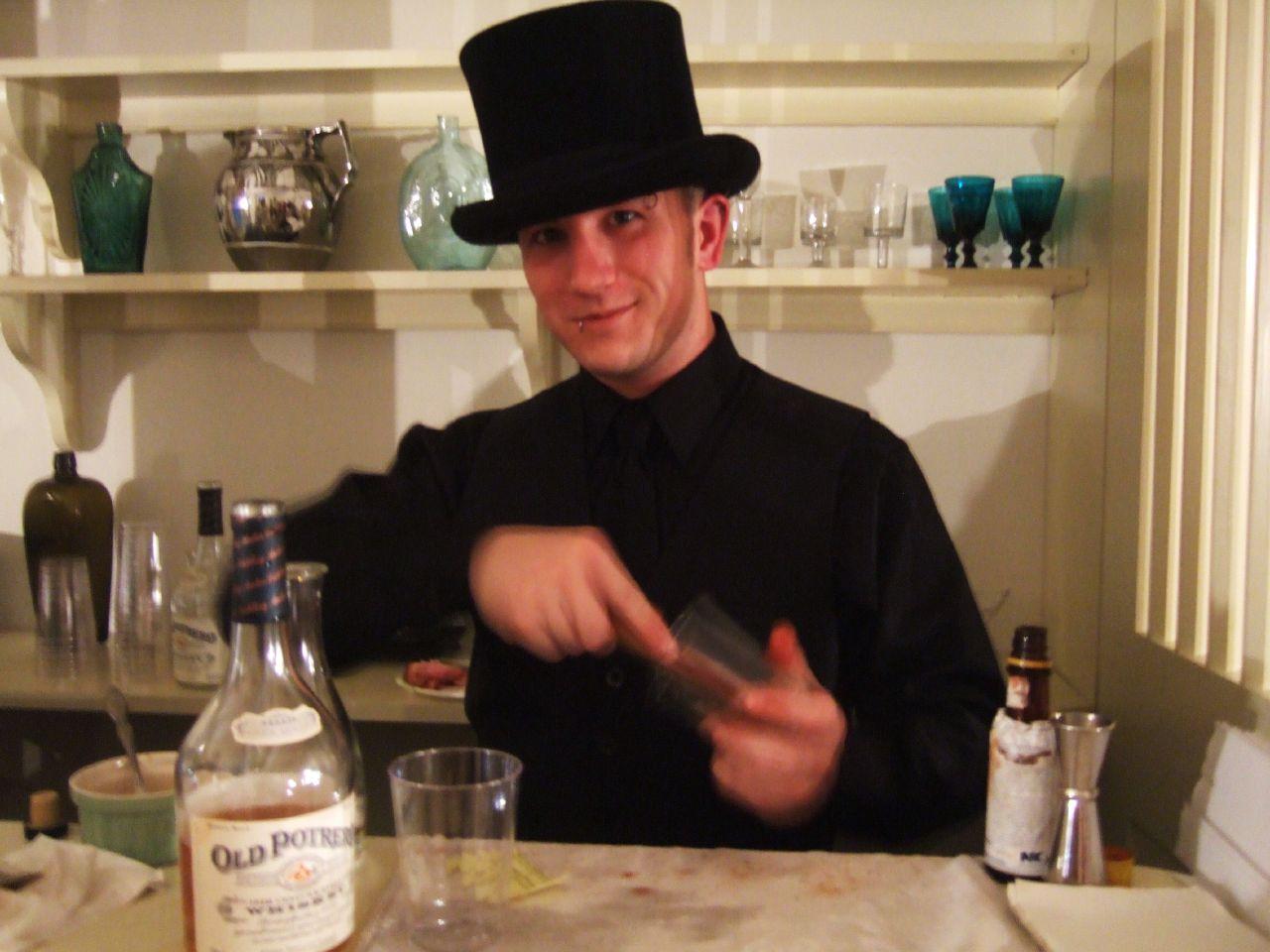 1830's bartendin'