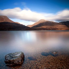 Loch Maree (Mike Cumming) Tags: mountains scotland highlands rocks long exposure lee loch cpf maree slioch torridon