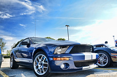 Shelby GT500 (Chad Horwedel) Tags: blue ford car illinois cobra shelby svt gt500 downersgrove shelbygt500 worldcars cozzicorner