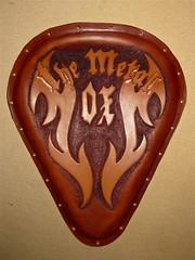 Leather Solo Seat - The Metal OX (Marius Mellebye / 276ccm) Tags: leather chopper harleydavidson motorcycle custom leatherwork mariusmellebye tooling leathercraft leathercarving soloseat 276ccm chopperseat themetalox