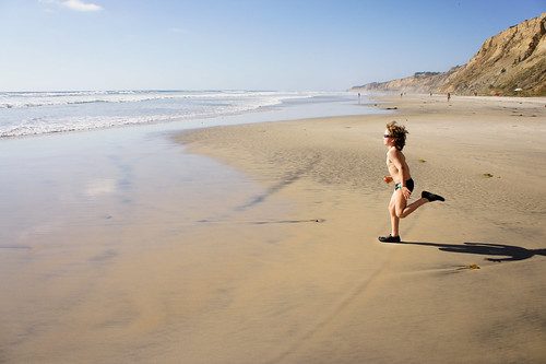 Running towards the Sea