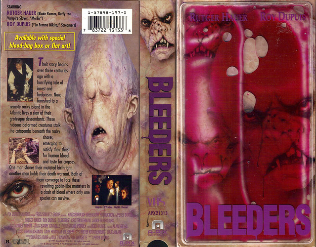 Bleeders (VHS Box Art)
