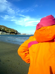 island UNITED COLORS of ANDROS (dimitra_milaiou) Tags: life pink blue autumn boy sea summer sky people orange sun fall beach nature colors girl hat clouds port swimming landscape island greek one 1 sand europe waves village child view wind hellas greece hora summertime ports chora andros cyclades katerina dimitra hellenic   horaandros  aigaio      neimporio milaiou