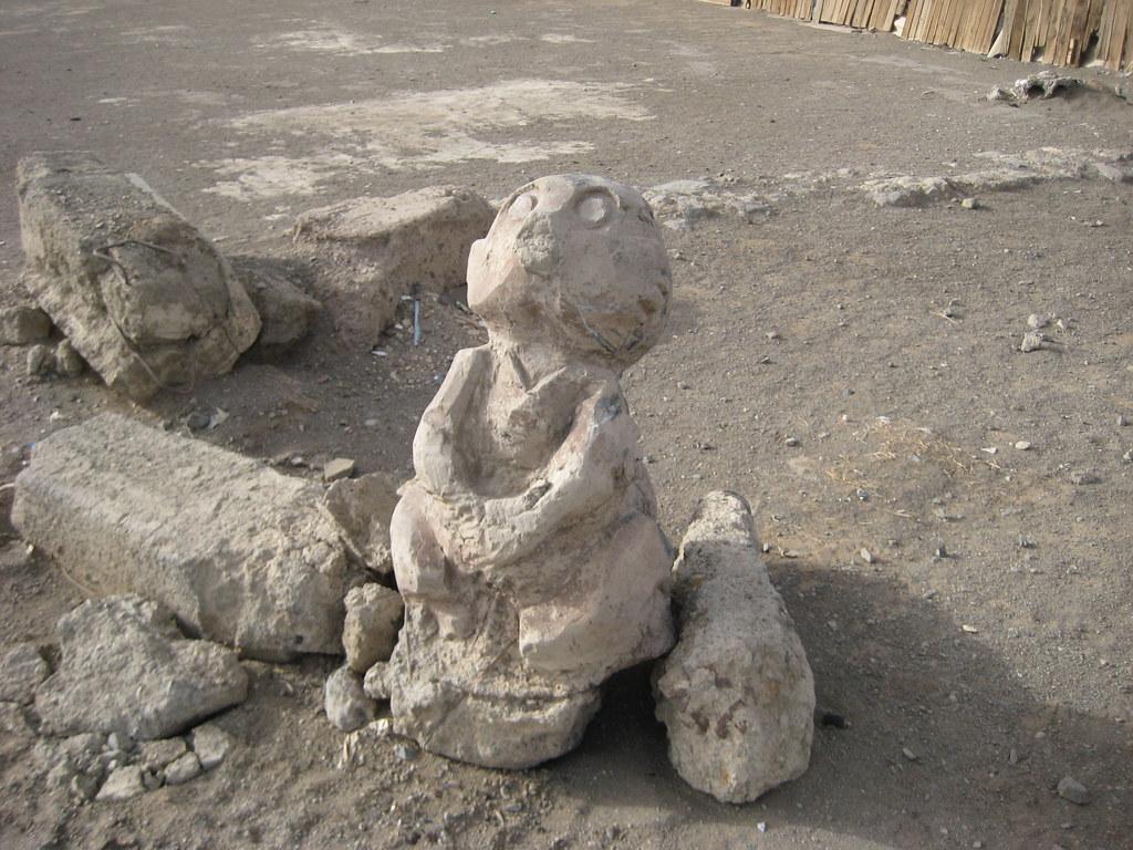 Даланзадгад - детская скульптура, которую не пощадило время