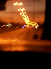 (Ladynet) Tags: road blur ruta lights luces movement camino buenos aires movimiento amanecer desenfoque sunnrise