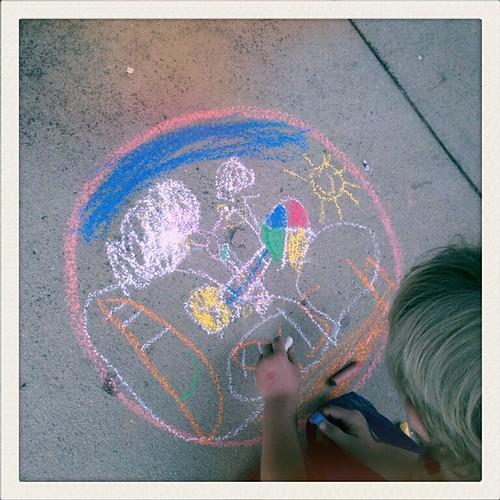 Kidspace Chalk Festival