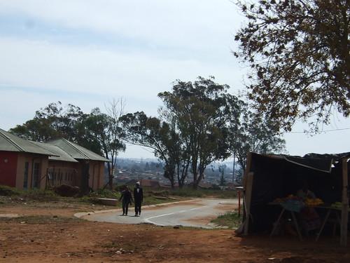 Street Scene in Soweto