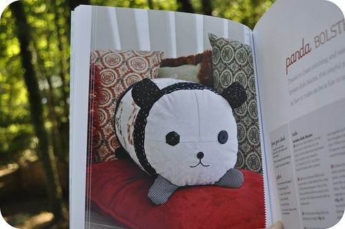 Panda Bolster Pillow