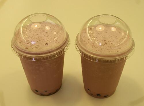 Taro Latte @Tea-licious