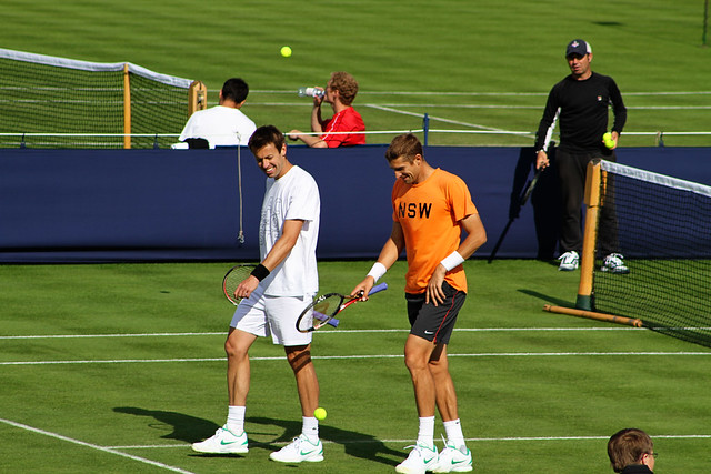 Daniel Nestor and Max Mirnyi