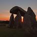 Pentre Ifan , Siambr Gladdu - Pembrokeshire