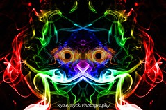 Colour Smoke Photography4 - Cosmic Feline (Ryan Dyck) Tags: new pink blue light red white abstract macro green art nature beautiful beauty photoshop wow spectacular fire photography yahoo google amazing artist colours purple smoke creative picture violet pro yelow chacha capture polarizer bing altavista exciting lightroom nikond90 ryandyckphotography ryandyckphotography scenics nikon1870 blackcolourmania