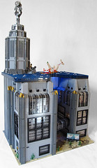 Rapture Full Angle View (Imagine) Tags: tower architecture airplane toys lego billboard artdeco rapture littlesister bigdaddy moc watercity bioshock lifelites imaginerigney brickworld2011