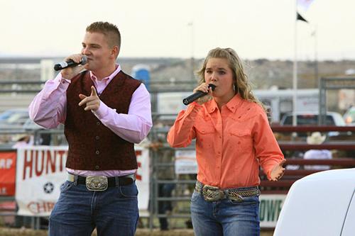 Jacob Nelson Molly Wineland Showdown Rodeo