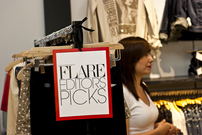 Guess Flagship Store Opening with Flare Magazine @ Queen St. W., Toronto