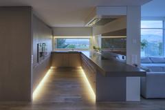 k i t c h e n ; with a nice view (Toni_V) Tags: kitchen architecture schweiz switzerland nikon suisse tripod illumination led kche hdr beleuchtung sich d300 sigma1020mm 2011 photomatix 5exp dsc8468 gitzogt1540 110614 toniv