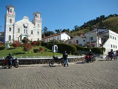Mirantes Mototravel Weekend Trip: Main square in Santa Rita de Jacutinga