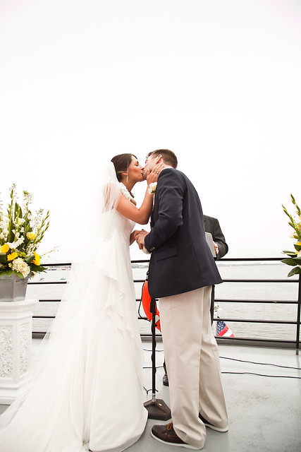 Kat & Rick - Ceremony on The Odyssey Cruise Ship, Boston, MA