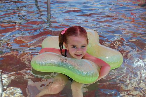 Baya swimming