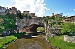 Nelaren semea (Erre Taele) Tags: bridge rio puente paradise natural small towns burgos paraiso villas nela puentedey