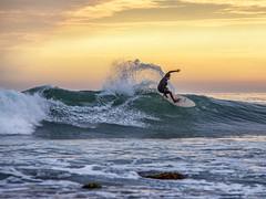 Nicholas Beach Malibu Ca. (Eric Zumstein) Tags: nicholasbeach surfer sunset malibu sky canon 6d surfing california pacificocean