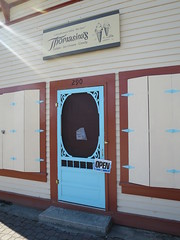 Thomasina's (D70) Tags: open closed princeton bc canada thomasinas gelato ice cream candy 290 similkameen valley blue door